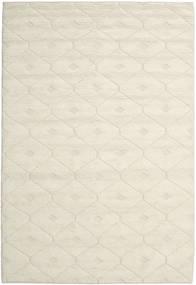 Romby - Off-White Sag 200X300 Autentični  Moderni Ručno Tkani Bež/Tamna Bež (Vuna, Indija)