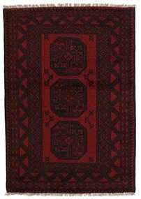 Afghan Sag 94X141 Autentični  Orijentalni Ručno Uzlan Tamnocrvena (Vuna, Afganistan)