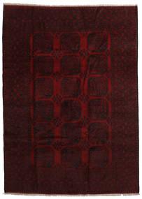 Afghan Sag 201X280 Autentični Orijentalni Ručno Uzlan Tamnosmeđa/Tamnocrvena (Vuna, Afganistan)