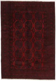 Afghan Sag 199X282 Autentični Orijentalni Ručno Uzlan Tamnocrvena (Vuna, Afganistan)