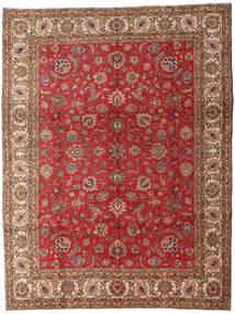 Tabriz Sag 289X382 Autentični Orijentalni Ručno Uzlan Tamnosmeđa/Tamnocrvena Veliki (Vuna, Perzija/Iran)