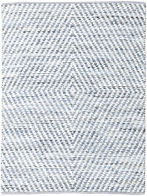 Hilda - Denim/White Sag 170X240 Autentični  Moderni Ručno Tkani Bež/Svjetloplava (Pamuk, Indija)