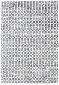Elna - Siva Sag 200X300 Autentični  Moderni Ručno Tkani Svjetlosiva/Bijela/Krem (Pamuk, Indija)