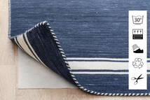 Anti Slip, Non-Woven Sag 240X340 Moderni Plava/Svjetlosiva ( Belgija)