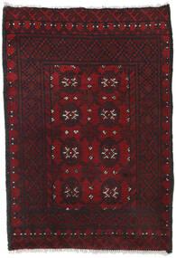 Afghan Sag 80X113 Autentični  Orijentalni Ručno Uzlan Tamnocrvena/Crna (Vuna, Afganistan)