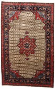 Songhor Sag 206X322 Autentični  Orijentalni Ručno Uzlan Svjetlosmeđa/Crna (Vuna, Perzija/Iran)