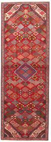 Joshaghan Sag 102X293 Autentični  Orijentalni Ručno Uzlan Staza Za Hodnik  Tamnocrvena/Hrđavo Crvena (Vuna, Perzija/Iran)
