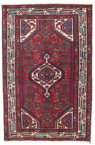 Hamadan Patine Sag 100X153 Autentični  Orijentalni Ručno Uzlan Tamnoljubičasta/Tamnocrvena (Vuna, Perzija/Iran)