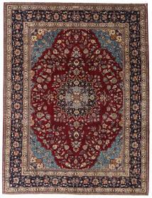 Kashmar Patine Sag 254X335 Autentični Orijentalni Ručno Uzlan Tamnocrvena/Tamnosmeđa Veliki (Vuna, Perzija/Iran)