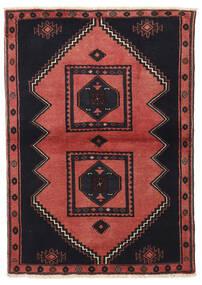 Klardasht Sag 103X149 Autentični Orijentalni Ručno Uzlan Crna/Tamnocrvena (Vuna, Perzija/Iran)