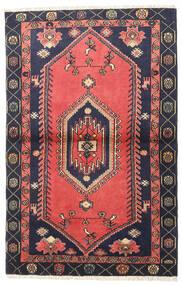 Klardasht Sag 98X150 Autentični Orijentalni Ručno Uzlan Grimizno Crvena/Crna (Vuna, Perzija/Iran)