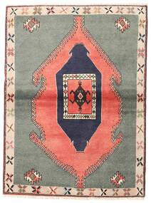 Klardasht Sag 105X140 Autentični Orijentalni Ručno Uzlan Tamnosiva/Svjetloružičasta (Vuna, Perzija/Iran)