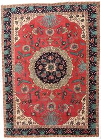 Ardebil Patine Sag 232X315 Autentični Orijentalni Ručno Uzlan Hrđavo Crvena/Tamnocrvena (Vuna, Perzija/Iran)