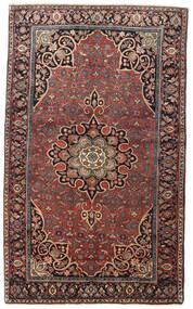 Bidjar Sag 129X212 Autentični  Orijentalni Ručno Uzlan Tamnocrvena/Tamnosmeđa (Vuna, Perzija/Iran)