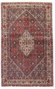 Bidjar Sag 90X143 Autentični Orijentalni Ručno Uzlan Tamnocrvena/Tamnosmeđa (Vuna, Perzija/Iran)