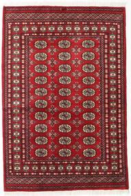 Pakistan Bokhara 2Ply Sag 125X185 Autentični  Orijentalni Ručno Uzlan Tamnocrvena (Vuna, Pakistan)