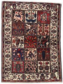 Bakhtiari Sag 110X151 Autentični Orijentalni Ručno Uzlan Tamnosmeđa (Vuna, Perzija/Iran)