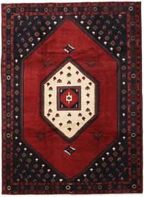 Klardasht Sag 215X293 Autentični Orijentalni Ručno Uzlan Crna/Tamnocrvena (Vuna, Perzija/Iran)