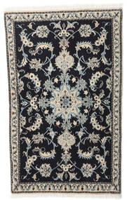 Nain Sag 86X140 Autentični  Orijentalni Ručno Uzlan Tamnosiva/Svjetlosiva (Vuna, Perzija/Iran)