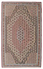 Ćilim Senneh Sag 148X237 Autentični Orijentalni Ručno Tkani Svjetlosiva/Svjetlosmeđa (Vuna, Perzija/Iran)