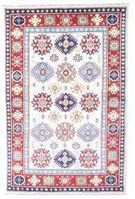 Kazak Sag 98X149 Autentični  Orijentalni Ručno Uzlan Bijela/Krem/Svjetloružičasta (Vuna, Afganistan)