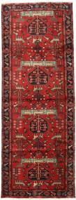 Hamadan Sag 105X284 Autentični  Orijentalni Ručno Uzlan Staza Za Hodnik  Tamnocrvena/Hrđavo Crvena (Vuna, Perzija/Iran)