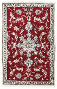 Nain Sag 90X140 Autentični  Orijentalni Ručno Uzlan Bež/Tamnocrvena (Vuna, Perzija/Iran)