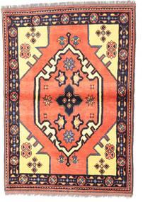 Kazak Sag 97X135 Autentični  Orijentalni Ručno Uzlan Tamnoljubičasta/Svjetloružičasta (Vuna, Pakistan)