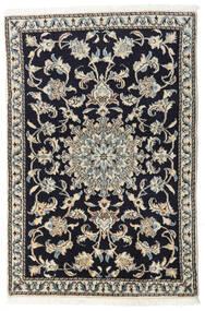 Nain Sag 90X135 Autentični  Orijentalni Ručno Uzlan Tamnoplava/Svjetlosiva/Tamnosiva (Vuna, Perzija/Iran)