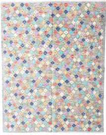 Ćilim Afghan Old Style Sag 152X194 Autentični  Orijentalni Ručno Tkani Svjetlosiva/Bež (Vuna, Afganistan)