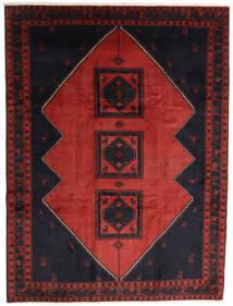 Klardasht Sag 258X345 Autentični Orijentalni Ručno Uzlan Crna/Tamnocrvena/Hrđavo Crvena Veliki (Vuna, Perzija/Iran)