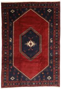 Klardasht Sag 203X300 Autentični Orijentalni Ručno Uzlan Tamnocrvena/Crna (Vuna, Perzija/Iran)