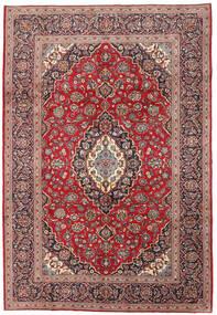 Keshan Sag 198X288 Autentični  Orijentalni Ručno Uzlan Tamnocrvena/Tamnosmeđa (Vuna, Perzija/Iran)