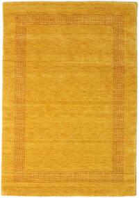 Handloom Gabba - Zlatna Sag 140X200 Moderni Narančasta/Žuta (Vuna, Indija)