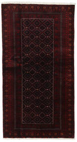 Beluch Sag 105X193 Autentični Orijentalni Ručno Uzlan Tamnocrvena (Vuna, Perzija/Iran)