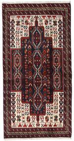 Beluch Sag 97X191 Autentični Orijentalni Ručno Uzlan Tamnocrvena (Vuna, Perzija/Iran)