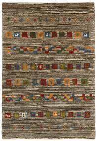 Gabbeh Persia Sag 118X178 Autentični Moderni Ručno Uzlan Svjetlosiva/Tamnosmeđa (Vuna, Perzija/Iran)