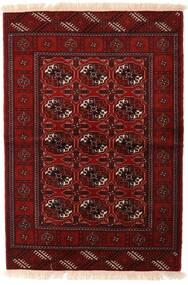 Turkaman Sag 110X160 Autentični Orijentalni Ručno Uzlan Tamnocrvena/Tamnosmeđa (Vuna, Perzija/Iran)