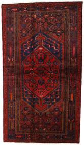 Hamadan Sag 132X228 Autentični  Orijentalni Ručno Uzlan Tamnocrvena (Vuna, Perzija/Iran)
