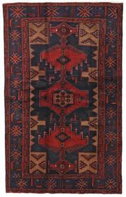 Hamadan Sag 124X201 Autentični Orijentalni Ručno Uzlan Tamnocrvena/Crna (Vuna, Perzija/Iran)