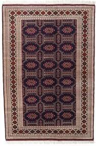 Turkaman Sag 134X197 Autentični Orijentalni Ručno Uzlan Tamnocrvena/Tamnosmeđa (Vuna, Perzija/Iran)