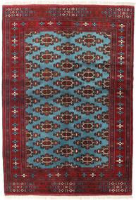 Turkaman Sag 133X190 Autentični Orijentalni Ručno Uzlan Tamnocrvena/Plava (Vuna, Perzija/Iran)