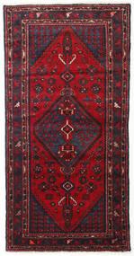 Hamadan Sag 103X200 Autentični  Orijentalni Ručno Uzlan Tamnocrvena/Tamnosmeđa (Vuna, Perzija/Iran)