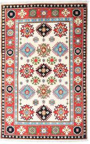 Kazak Sag 94X149 Autentični  Orijentalni Ručno Uzlan Bež/Svjetlosiva (Vuna, Afganistan)