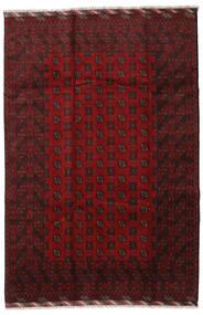 Afghan Sag 201X298 Autentični Orijentalni Ručno Uzlan Tamnocrvena (Vuna, Afganistan)