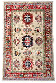 Kazak Sag 92X144 Autentični  Orijentalni Ručno Uzlan Tamnocrvena/Bež (Vuna, Afganistan)