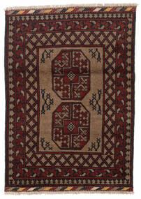Afghan Sag 86X119 Autentični  Orijentalni Ručno Uzlan Tamnosmeđa/Tamnocrvena (Vuna, Afganistan)