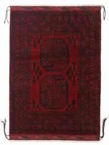 Afghan Sag 85X117 Autentični  Orijentalni Ručno Uzlan Tamnocrvena/Tamnosmeđa (Vuna, Afganistan)
