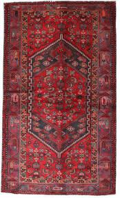 Hamadan Sag 135X228 Autentični  Orijentalni Ručno Uzlan Tamnocrvena/Grimizno Crvena (Vuna, Perzija/Iran)