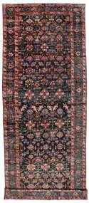Sautchbulag 1920-1940 Sag 230X620 Autentični Orijentalni Ručno Uzlan Staza Za Hodnik Crna/Tamnocrvena (Vuna, Perzija/Iran)